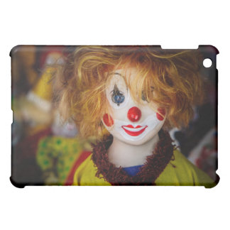 The smile on a clown toy iPad mini cover