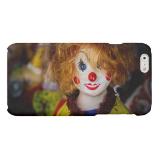 The smile on a clown toy matte iPhone 6 case