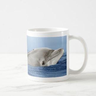 The smiling dolphin coffee mug
