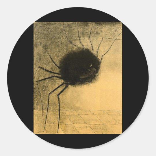 The Smiling Spider Classic Round Sticker