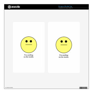 The Smily face for those who are not smiling. Decal For Kindle Fire