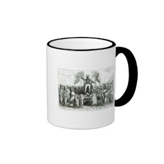 The Smithfield Parliament: Universal Suffrage Ringer Mug
