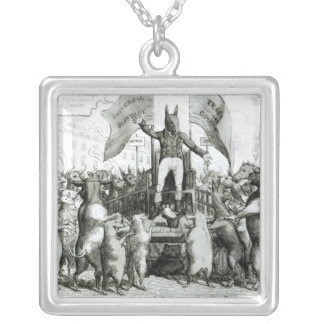 The Smithfield Parliament: Universal Suffrage Silver Plated Necklace