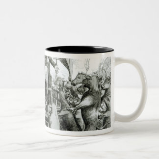 The Smithfield Parliament: Universal Suffrage Two-Tone Coffee Mug