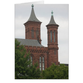 The Smithsonian Castle, Washington D.C. Card