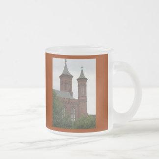 The Smithsonian Castle, Washington D.C. Frosted Glass Coffee Mug
