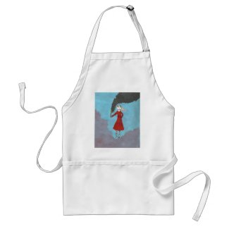 The Smoke Gothic girl apron