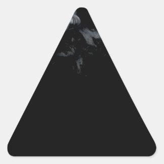The Smoke Monster Triangle Sticker
