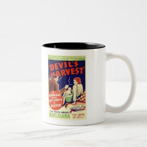 The Smoke of Hell! Two-Tone Coffee Mug