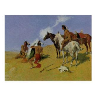 The Smoke Signal Postcard