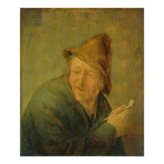 The Smoker, 1640 Poster