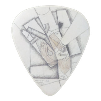 The Smoker, 1912 (charcoal & red chalk on paper) Acetal Guitar Pick