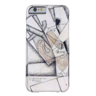 The Smoker, 1912 (charcoal & red chalk on paper) Barely There iPhone 6 Case