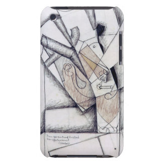 The Smoker, 1912 (charcoal & red chalk on paper) Barely There iPod Case