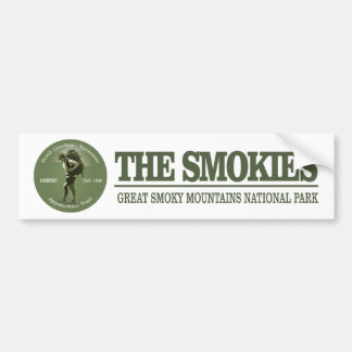 The Smokies Bumper Sticker