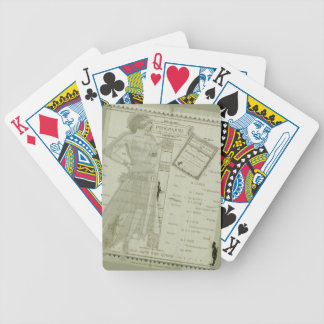 The Smoking Concert Bicycle Playing Cards