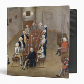 The smoking council of Frederick William I Binder