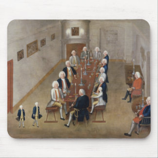 The smoking council of Frederick William I Mouse Pad