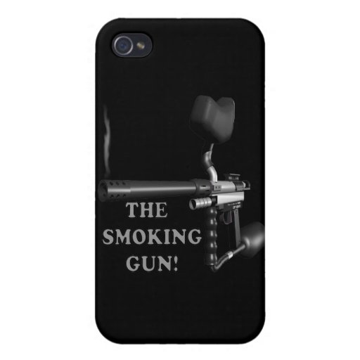The Smoking Gun iPhone 4/4S Case