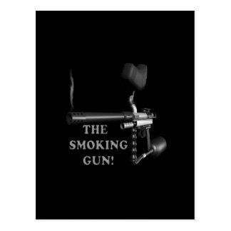 The Smoking Gun Postcard