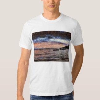 The smoldering ocean t shirt