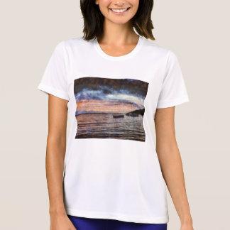 The smoldering ocean t-shirt