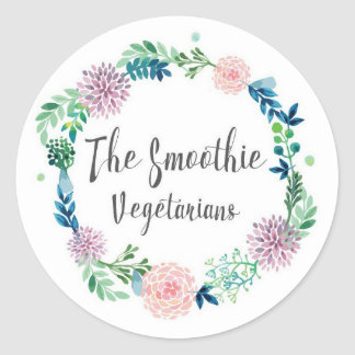 The Smoothie Vegetarians Stickers