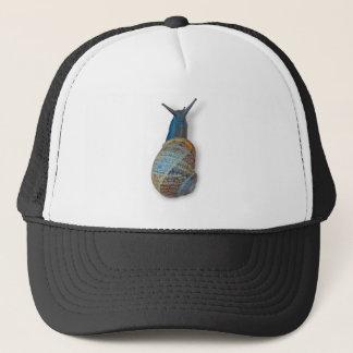 The snail trucker hat