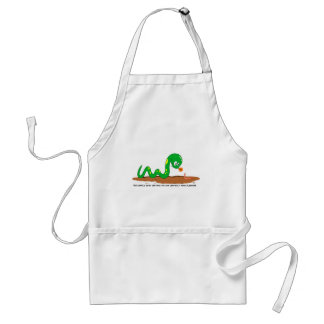 The Snake and the worm Adult Apron