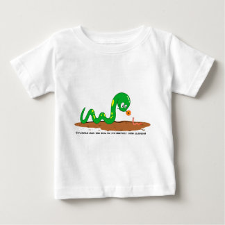 The Snake and the worm Baby T-Shirt