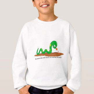 The Snake and the worm Sweatshirt
