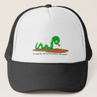 The Snake and the worm Trucker Hat