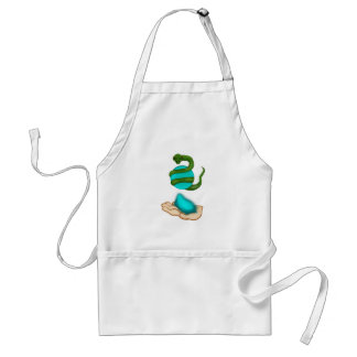 The Snake Adult Apron