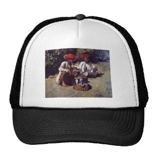 The Snake Charmers, Bombay by Edwin Lord Weeks Trucker Hat