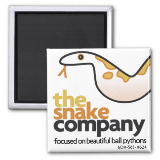 The Snake Company Magnet