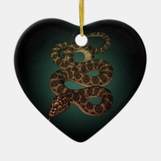 The Snake (G) Ceramic Ornament