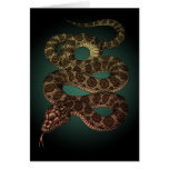 The Snake (G) Greeting Cards