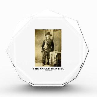 The Snake Hunter (Vintage Photo Snake Skins) Award