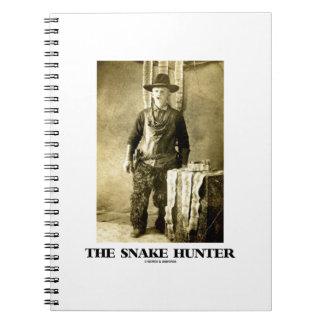 The Snake Hunter (Vintage Photo Snake Skins) Journal