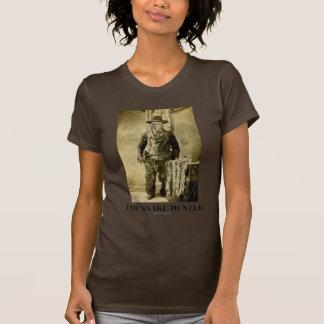 The Snake Hunter (Vintage Photo Snake Skins) T-Shirt