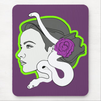 The Snake Lady Mousemats
