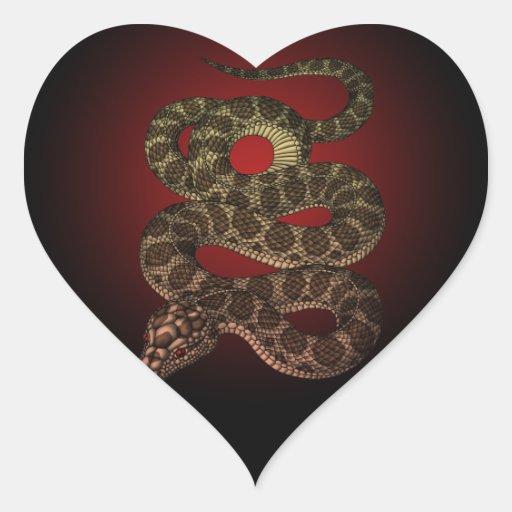 The snake (R)