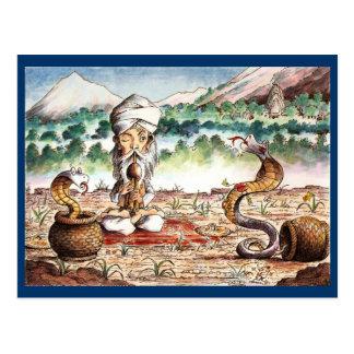 The Snakecharmer Post Card
