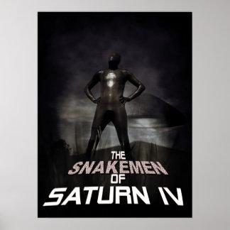 The Snakemen Of Saturn IV Print