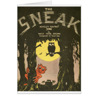 The sneak card
