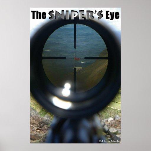 THE SNIPER'S EYE POSTER