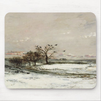 The Snow, 1873 Mouse Pad