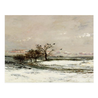 The Snow, 1873 Postcard