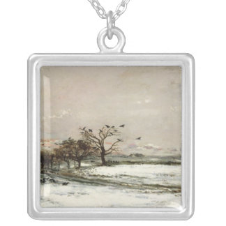 The Snow, 1873 Silver Plated Necklace