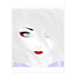 The Snow Geisha Postcard